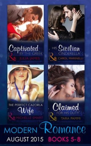 Modern romance august books 5-8 (ebok) av Car