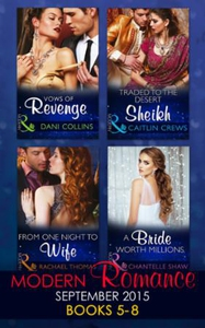 Modern Romance September 2015 Books 5-8 (ebok