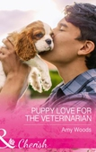 Puppy love for the veterinarian