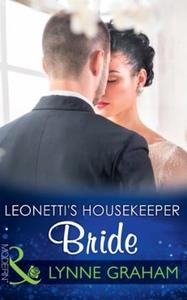 Leonetti's Housekeeper Bride (ebok) av Lynne