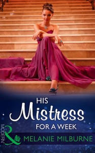 His mistress for a week (ebok) av Melanie Mil
