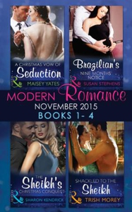 Modern Romance November 2015 Books 1-4 (ebok)
