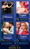 Modern romance june 2016 books 5-8