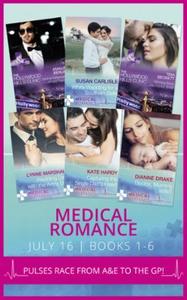 Medical romance july 2016 books 1-6 (ebok) av