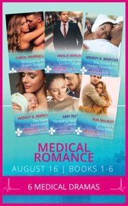 Medical romance august 2016 books 1-6 (ebok)