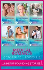 Medical romance october 2016 books 1-6 (ebok)