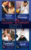 Modern romance october 2016 books 1-4
