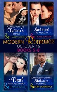 Modern romance october 2016 books 5-8 (ebok)