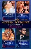 Modern Romance December 2016 Books 5-8