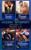 Modern Romance January 2017 Books 5 - 8