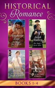 Historical Romance Books 1 - 4 (ebok) av Marg
