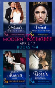 Modern Romance April 2017 Books 1-4 (ebok) av