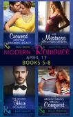 Modern Romance April 2017 Books 5 - 8