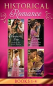 Historical Romance: April Books 1 - 4
