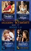 Modern Romance May 2017 Books 1 - 4
