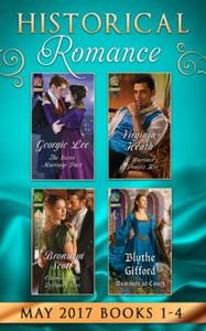 Historical Romance May 2017 Books 1 - 4 (ebok