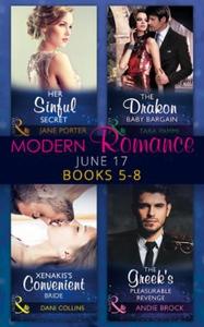Modern Romance June 2017 Books 5 - 8 (ebok) a