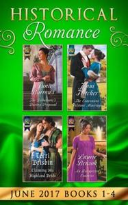 Historical Romance June 2017 Books 1 - 4 (ebo