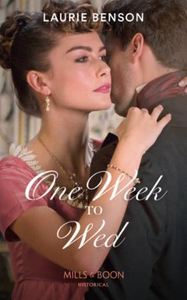 One Week To Wed (ebok) av Laurie Benson