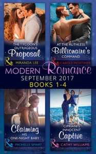 Modern Romance September 2017 Books 1 - 4 (eb