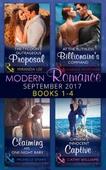 Modern Romance September 2017 Books 1 - 4