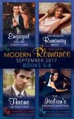 Modern Romance September 2017 Books 5 - 8