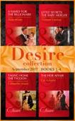 Desire September 2017 Books 1 -4