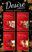 Desire Collection: November Books 1 - 4