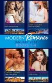 Modern Romance Collection: January 2018 Books 1 -4