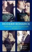 Modern Romance Collection: February 2018 Books 1 - 4