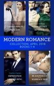 Modern Romance Collection: April 2018 Books 1 - 4
