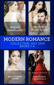 Modern Romance July 2018 Books 1-4 Collection