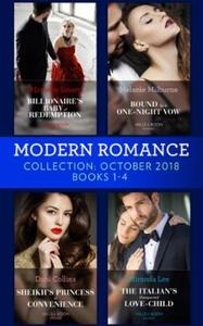Modern Romance October Books 1-4 (ebok) av Mi