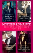 Modern Romance October 2018 Books 5-8