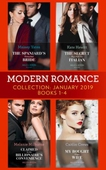 Modern Romance January Books 1-4