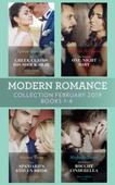 Modern Romance February Books 1-4