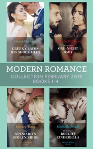 Modern Romance February Books 1-4 (ebok) av L