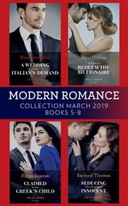 Modern Romance March 2019 5-8 (ebok) av Kim L