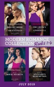 Modern Romance July 2019 Books 1-4 (ebok) av
