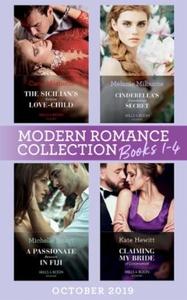 Modern Romance October 2019 Books 1-4 (ebok)