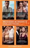 Modern Romance October 2019 Books 5-8