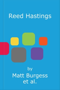 Reed Hastings (lydbok) av Matt Burgess