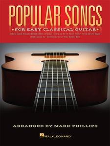 Popular Songs for Easy Classical Guitar (e-bok)
