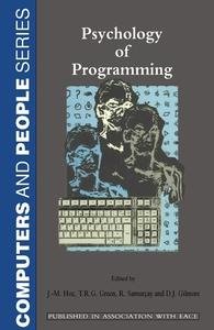 Psychology of Programming (e-bok) av