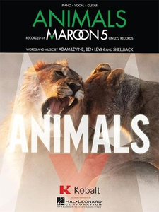 Animals Sheet Music (e-bok) av Maroon 5