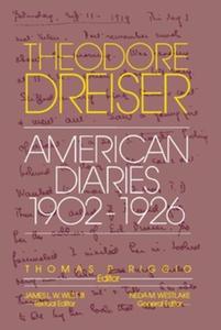 The American Diaries, 1902-1926 (e-bok) av Theo