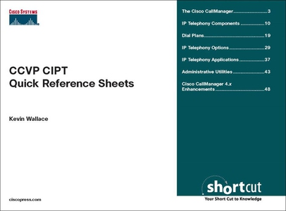 CCVP CIPT Quick Reference Sheets (e-bok) av Kev