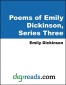 Poems of Emily Dickinson, Series Three