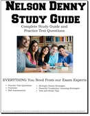 Nelson Denny Study Guide - Complete Study Guide and Practice Test Questions