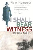 I Shall Bear Witness